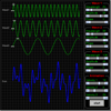 Wave Interference Applet for Three Waves