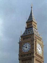 Photo of the Big Ben clock tower London