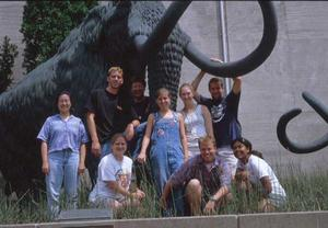 Photo of the Keck Ohio Project Team 1999.