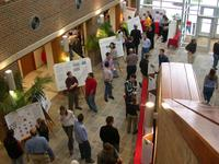 Student research symposium at Wittenberg University