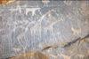 Petroglyphs in Gilf Kebir, Egypt