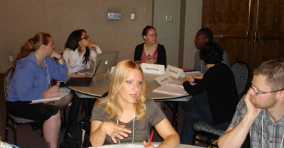 Participants at the 2011 Early Career workshop