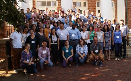Participants in the 2018 workshop for Early Career faculty in the geosciences