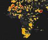 Interactive Meteorite Map