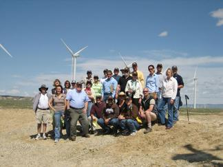 Energy field trip - group photo
