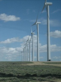 Energy field trip - Seven Mile Hill wind farm 2