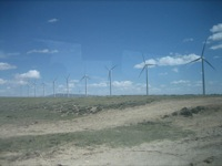 Energy field trip - Seven Mile Hill wind farm