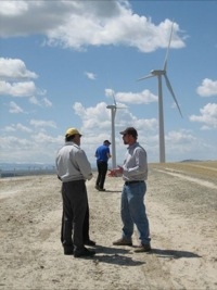 Wind farm field trip discussion 2