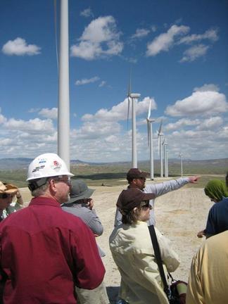 Wind farm field trip discussion 4