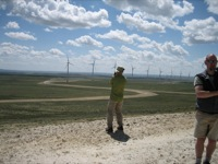 Wind farm field trip