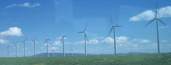 wind farm scenic