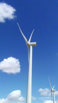 Wind Turbine at Seven Mile Hill