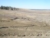 Reclaimed coal mine, Absaloka Mine, Montana