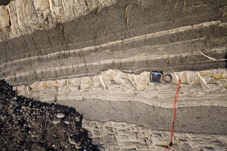 Millook Haven cliff