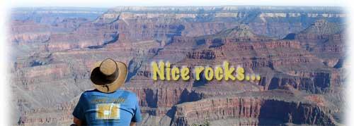 Alan Likes Rocks