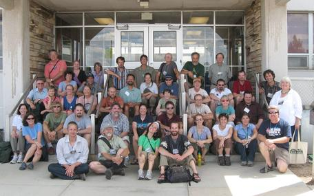 Teaching Geomorph group photo