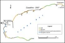 Coastline segmentation – 2007