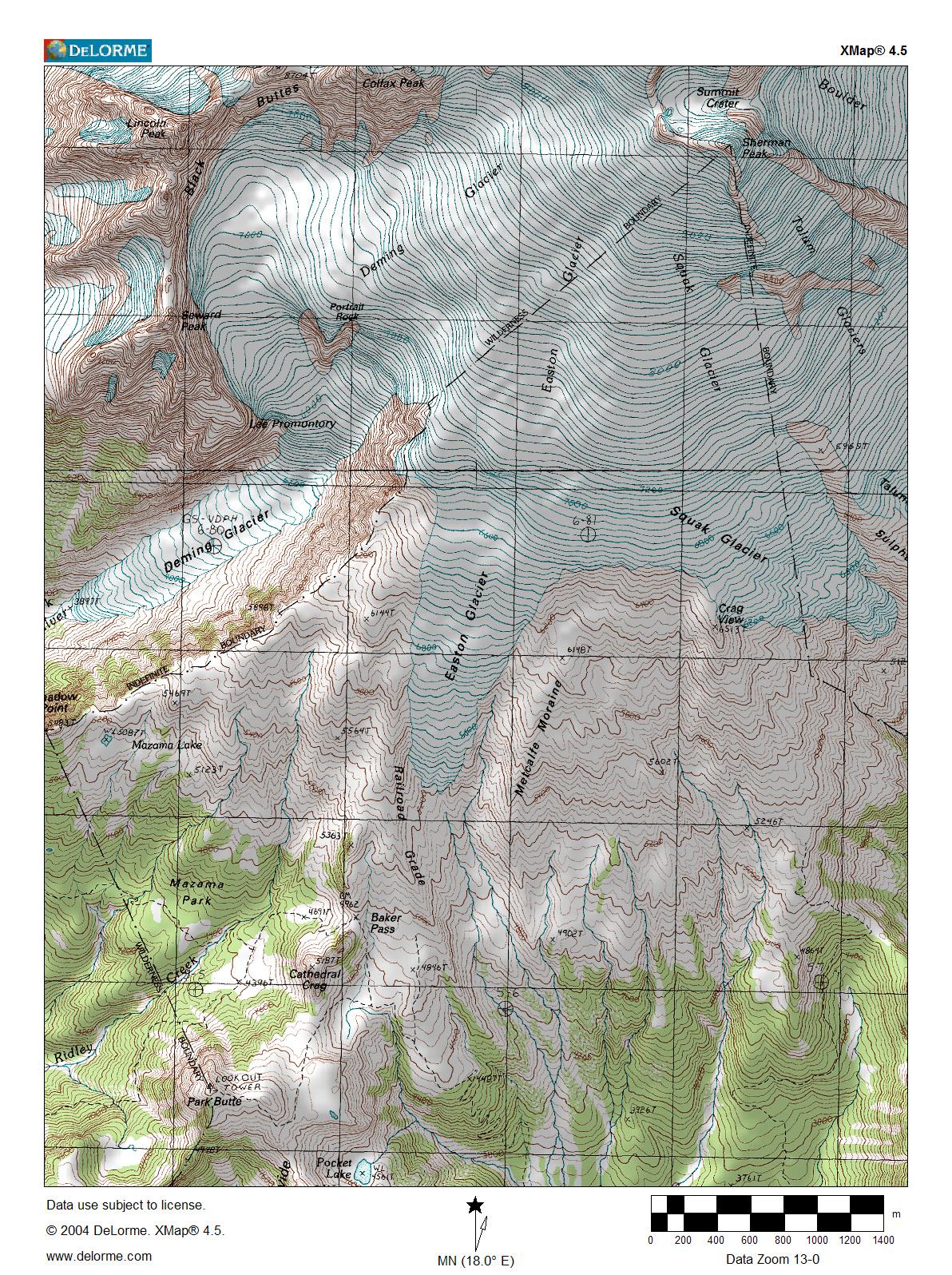 eastonglaciertopographicmapjpg