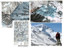 Geometric Similitude in different representations of Mt. Everest