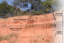 Paleosol-sediment-sequence at Charagua