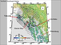 Post LIA Uplift in Northern Southeast Alaska