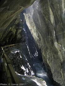 Tamina gorge, Switzerland