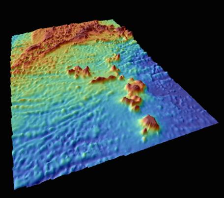 Atlantis Meteor Seamount