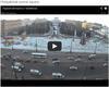 Chelyabinsk Meteor Passing over Chelyabinsk Square