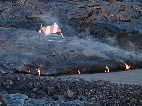 Kalapana Lava Flow -- Jan. 2011 -- Hawaii