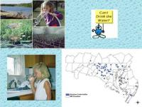 Images and maps of  water uses and pollution sources