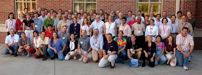 Photo of 2005 workshop participants