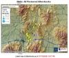 Wells earthquake map