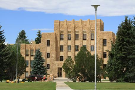 Arts and Sciences building, University of Wyoming