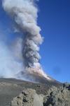 Mt. Etna erupting