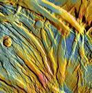Graben in Acheron Fossae, Mars
