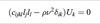 Elastic moduli - acoustic wave velocity relation