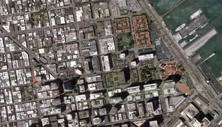 Chinatown Campus closeup map