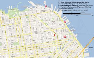 Chinatown Campus street map