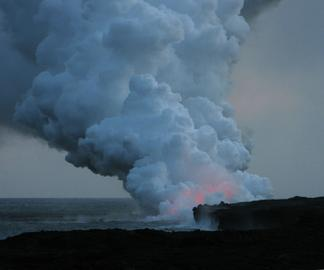 Lava into Sea