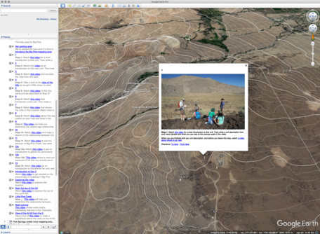 Google Earth Field Mapping