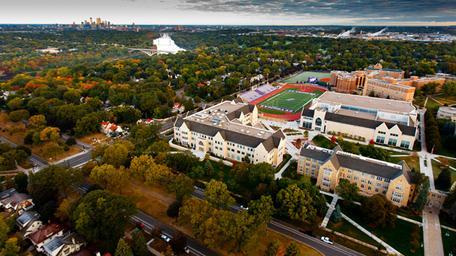 UST campus aerial view