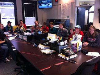 Students visit county Emergency Management Agency