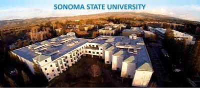 Aerial view Sonoma State