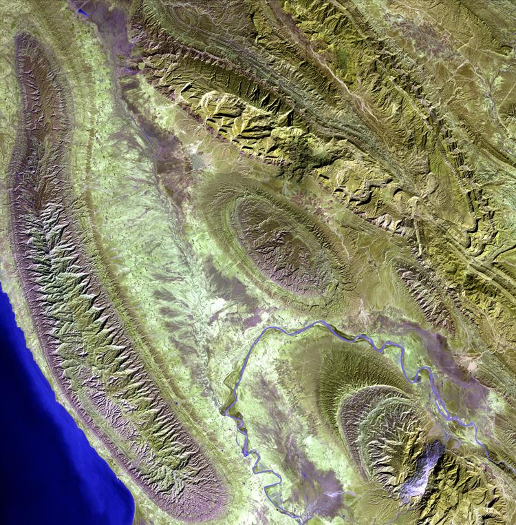 Zagros Landsat 7