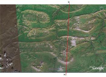 Amatusuk Hills, Alaska folds