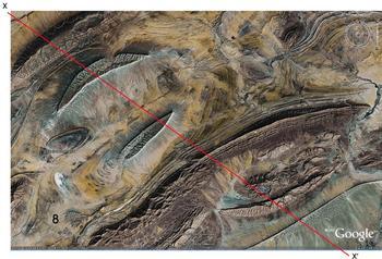 Anti-Atlas Mountains, Algeria folds 1