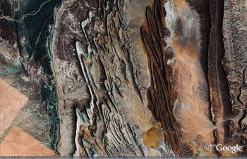 Anti-Atlas Mountains, Morocco folds 1
