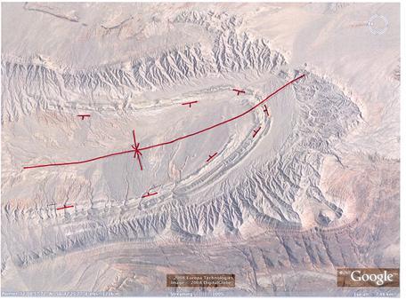 Dubinovka, Iran, fold geo  map