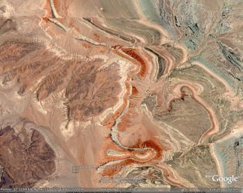Eastern Dasht-e Lut, Iran faults