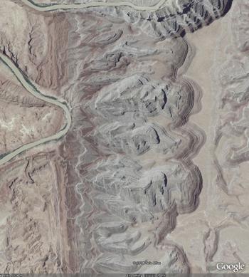 Raplee Monocline, Monument Upwarp, Utah detail